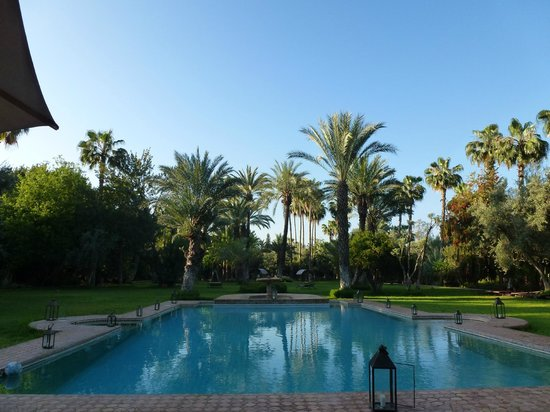 Dar Ayniwen Villa Hotel: Pool and garden