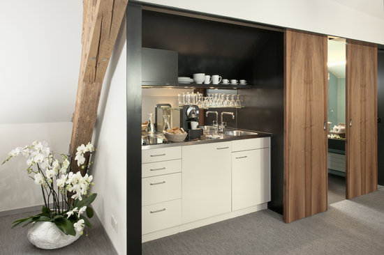 Limmathof Baden Hotel & Spa: Studio Kitchenette Hotel & Novum Spa