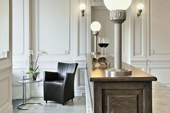 Limmathof Baden Hotel & Spa: Reception Hotel & Novum Spa