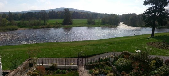 Banchory Lodge: View from Room 30