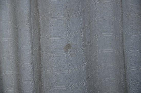 Okawati Hotel: auch der Vorhang
