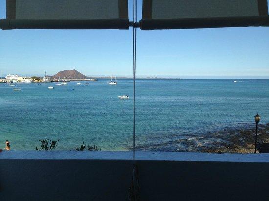 Avanti Hotel Boutique Fuerteventura : Sicht aus Zimmer 105