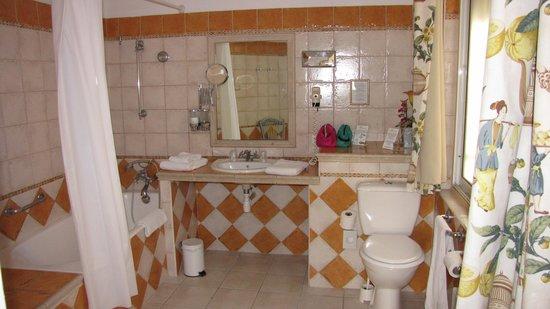 Hotel Spa Le Calendal: Il bagno!!