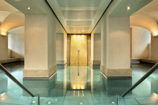 Limmathof Baden Hotel & Spa: Novum Spa Wellness Oasis Thermal Bath