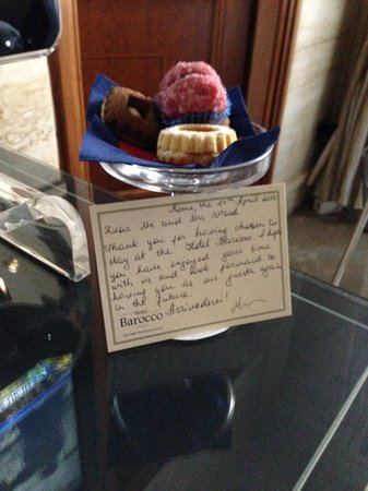 Barocco Hotel: The Personal Touch !!