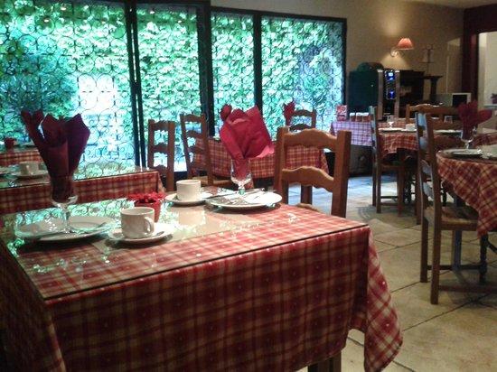 San Pedro: Frühstücksraum