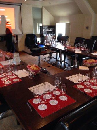 Surrey Wine School: Sat course room