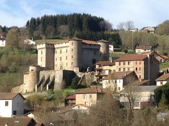 Chateau de Chalmazel: Le château