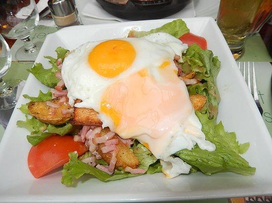 LES 3 BRASSEURS - REIMS - Un des plats dégustés