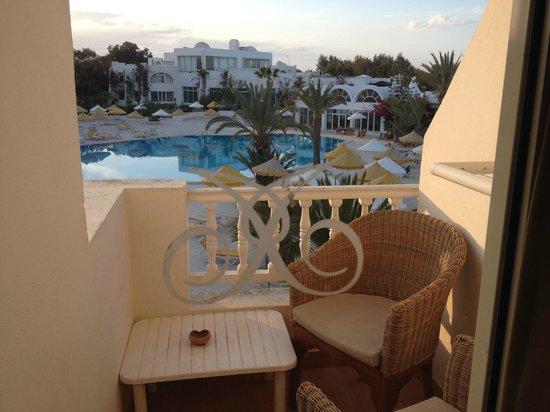 Hotel Isis Thalasso & Spa : Vue de notre chambre
