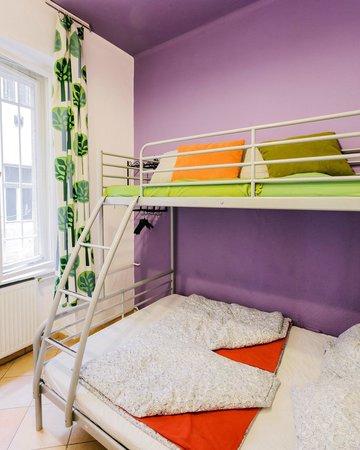 Home Plus Hostel: Double room