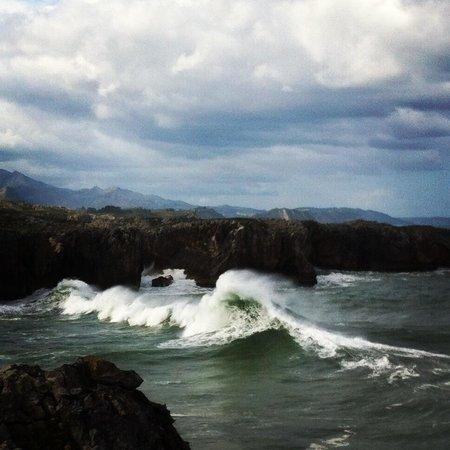 Bufones de Pria: Mar Cantabrico