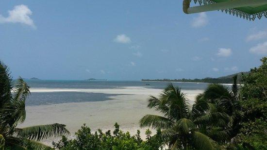 Palm Beach Hotel: Blick aus dem Zimmer