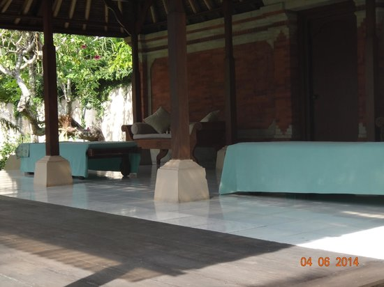 Puri Bagus Candidasa : extended spa for massage