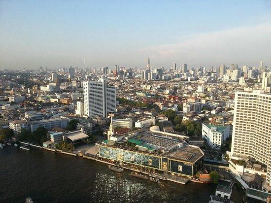 Millennium Hilton Bangkok: View from executive lounge