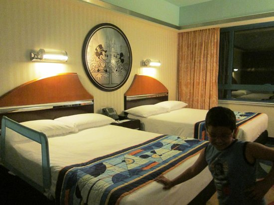 Disney's Hollywood Hotel: The standard room at the Hotel