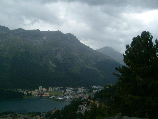 Mount Corvatsch: view from Chantarella