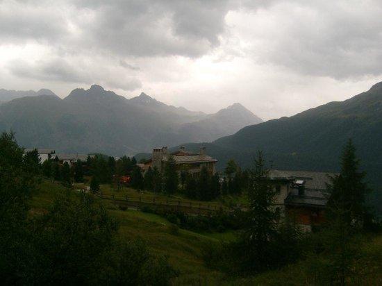 Mount Corvatsch : view from Chantarella