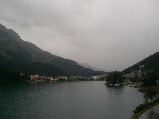 Mount Corvatsch : St. Mortiz lake
