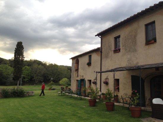B&B La Canonica di San Michele: nonostante le nuvole...