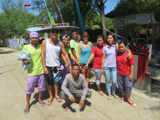 Danima Resort & Restaurant: All the friendly staff!