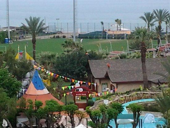 Limak Arcadia Golf & Sport Resort: uitzicht vanuit onze kamer