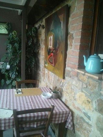 Fonte Bertusi: Veranda per la colazione