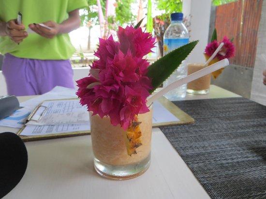 Danima Resort & Restaurant : A welcome drink!