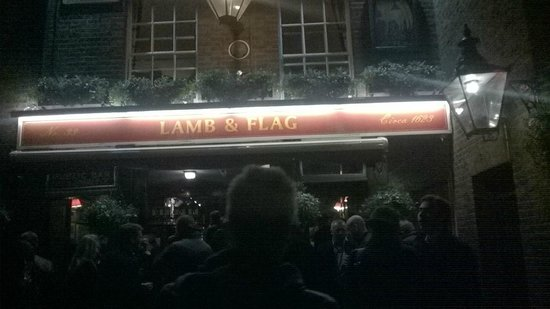 Lamb & Flag : Great Pub a must visit