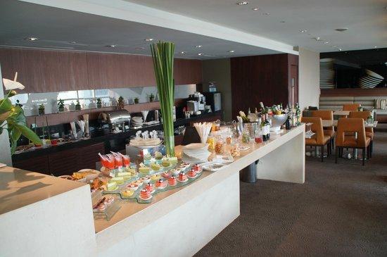 Pullman Bangkok King Power: tolle Lounge