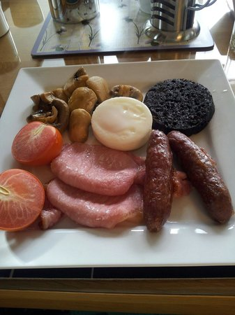 Torlundy House: Fully cooked breakfast