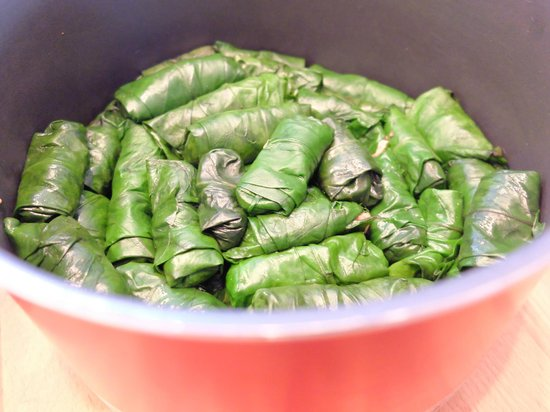 Turkish Flavours : Dolmas