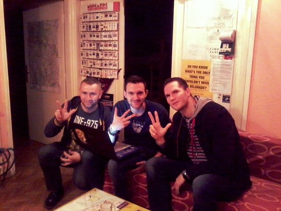 1001 Nights Hostel: serbian company