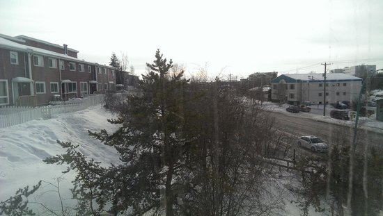 Capital Suites Yellowknife: view from our room