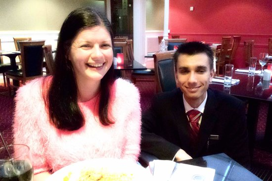 Manchester Airport Marriott Hotel: Even More Pleasant Staff