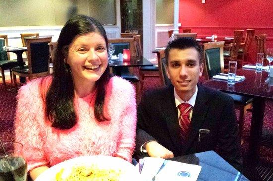 Manchester Airport Marriott Hotel: Pleasant Staff