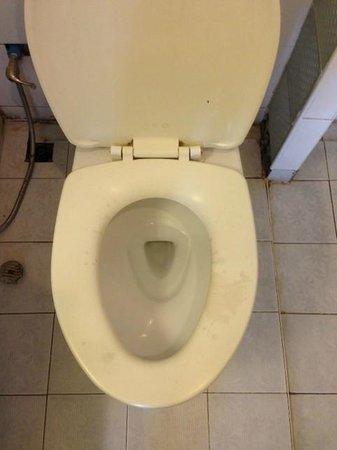 Khurana Inn: Toilet Seat