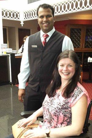 Manchester Airport Marriott Hotel: More Pleasant Staff