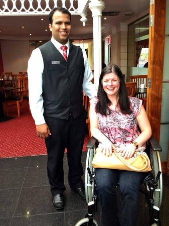 Manchester Airport Marriott Hotel: The Gentleman Who Helped Laura
