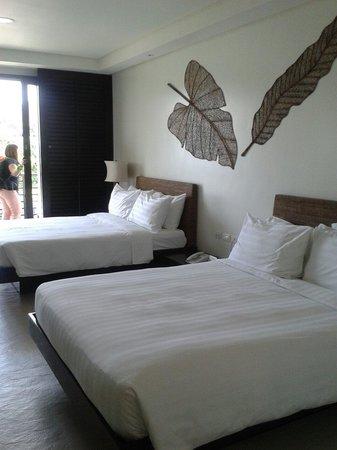 Kamana Sanctuary Resort and Spa : Comfy beds and pillows