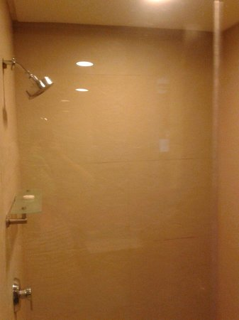 Kamana Sanctuary Resort and Spa : Clean shower but flow of water is slow