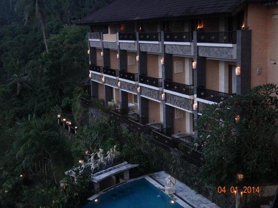 Rijasa Agung  - Bali Ubud Luxury Hotel Resort Villa : view from room