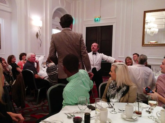 Faulty Towers the Dining Experience: Basil and Manuel