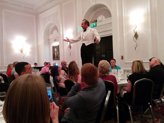 Faulty Towers the Dining Experience: Manuel