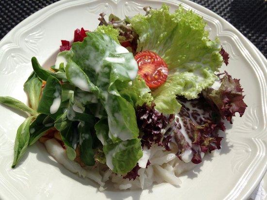 Hotel Bodenhaus: Insalata mista