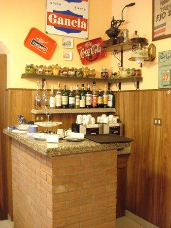 Osteria Vallebona : il bar