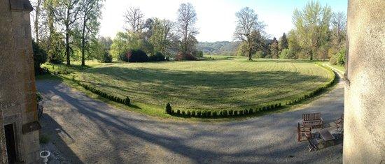 Chateau de Ribagnac: Vue depuis la Grand Suite