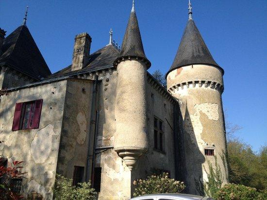 Chateau de Ribagnac: Château depuis derrière