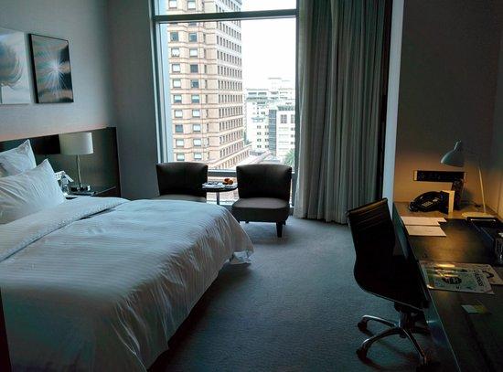 Le Meridien Taipei: Room (2)