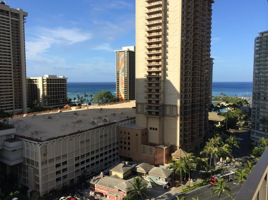 Aqua Palms Waikiki: view from room